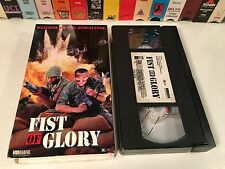 "* Fist Of Glory Rare Vietnam War Action VHS '91 Dale ""Apollo"" Cook Maurice Smith"