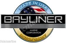 """One Bayliner Motor Yacht bridge sticker 10""""X7"""""""