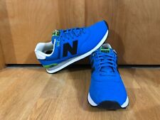 deb63d7f2a4e7 Mens New Balance 574 Paint Chip Running Shoes/size 11.5/blue/green/