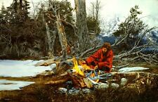 PAUL CALLE, RETURN TO CAMP, LIMITED ED. ARTIST PROOF CANVAS PRINT, MOUNTAIN MAN