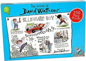 David Walliams Billionaire Boy 250 piece jigsaw puzzle 496mm x 335mm (pl)