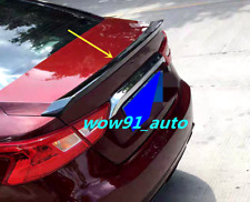 New for Nissan Maxima 2016 -2019 Bright black Rear Tail Trunk Spoiler Wing Lip