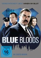 DONNIE WAHLBERG TOM SELLECK - BLUE BLOODS S2 MB 6 DVD NEU