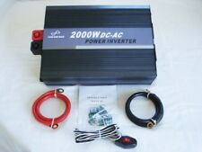 2000W 12V Pure Sine Wave Power Inverter with Remote Control & USB Connection