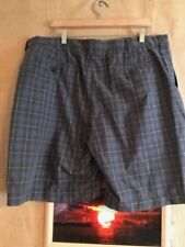 Ben Hogan Performance Golf Selection men's size 40 shorts polyester zip flat pla