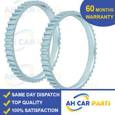 2X ABS RELUCTOR RING FOR VOLVO  S60  S70 S80