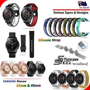 Samsung Galaxy Gear Watch 42mm 46mm S2 S3 Band Replacement Wristband Bracelet