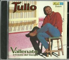 Tulio Vallenato A Traves Del Tiempo Latin Music CD New