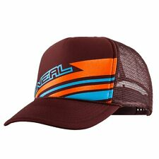 O'Neal Embroidered Patch Mesh Trucker Cycling Hat Cap Brown 0980-201