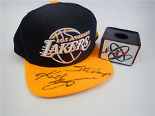 The NBA Los Angeles lakers 科比 Kobe Bryant Autographed five-time championship cap