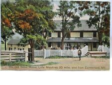 1910 POSTCARD OLD STONE HOUSE,LITTLE MEADOWS, WEST FROM CUMBERLAND MD