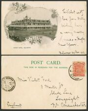 More details for british south africa company 1d 1902 old postcard rhodesia bulawayo, grand hotel