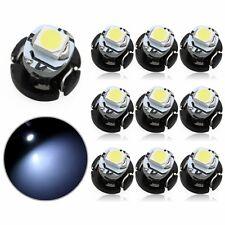 10Pcs T3 LED Neo Car Wedge Instrument Dashboard Gauge Cluster Bulbs Light White