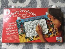 Vintage Strawberry Shortcake Color 'n Clean Machine (1980) New In Box