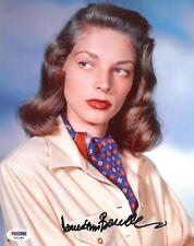 Lauren Bacall Signed Authentic Autographed 8x10 Photo (PSA/DNA) #S21289