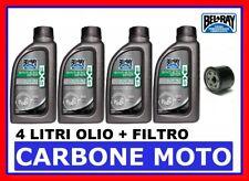 KIT TAGLIANDO HONDA HORNET 600 '03>'12 OLIO BEL-RAY EXS 10W40 E FILTRO
