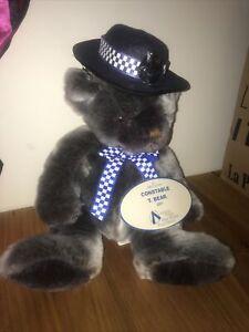 Constable T Bear ,Victoria Police Bear & Hat Badge . 2001 VGC.