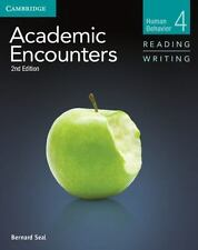 Academic Encounters Level 4 Student's Book Reading And Writing And Writing Sk...