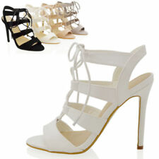 Essex Glam Stiletto Strappy, Ankle Straps Heels for Women