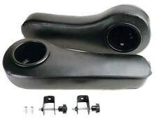 Set(2) of Universal Golf Cart Black Arm Rest Cushion W/Cupholder - Assembly inc.