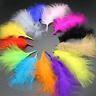 BULK 50 Veniard Marabou Fluffy Turkey Feathers 8-16cm 17 Colour Choice DIY Craft