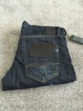 Replay Cotton Regular Faded Jeans for Men