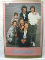 DIRE STRAIT BRITISH ROCK VINTAGE POSTER GARAGE 1985 CNG907