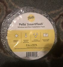 New Listing1 Roll Pella Smart Flash Window & Door Installation Flashing Tape New 3�x50'