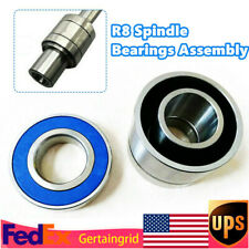 1set Mill Machine Parts R8 Spindle Bearings Assembly Fit For Bridgeport Milling