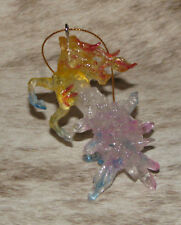 """TRAIL OF PAINTED PONIES Fire and Ice Ornament~3.5""""~Special 15th Anniversary 2018"""