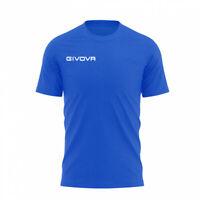 T-shirt Fresh Manica Corta Uomo Givova MA007 Azzurro