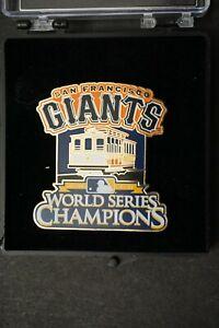 San Francisco Giants 2010 World Series Champions Pin Rare #124/125 Mint in Box