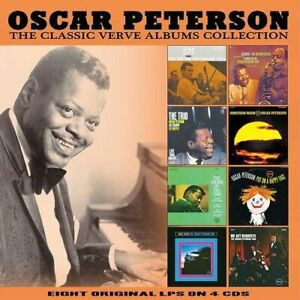 OSCAR PETERSON - CLASSIC VERVE ALBUMS COLLECTION NEW CD