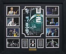 U2 Limited Edition Signature Framed Memorabilia (b)