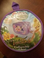 Disney Fairies Tinkerbell Collapsible Chest Portable Storage for Toys, Clothes &