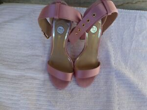 Sandalette Gr 38 rosa Satin