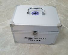 AMERICAN GIRL DOLL MARISOL RETIRED SILVER THEATER PERFORMANCE TRAVEL TRUNK CASE
