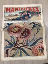 Rivista Femminile Mani Di Fata Novembre 1936