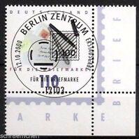 Bund 2148 , o , Eckrand mit Berliner FDC Stempel