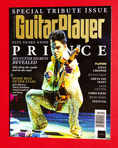 Prince Rogers Nelson Tribute GUITAR PLAYER JULY 2021 MAGAZINE