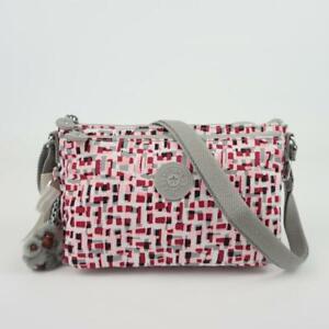 KIPLING MIKAELA Travel Shoulder Crossbody Bag Glamorous Tiles
