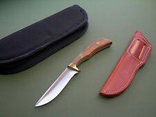 JIMMY LILE KNIFE REGULAR 7 / SCRIPT SIGNED / POUCH SHEATH / CARRY CASE / UNUSED