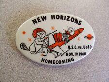 >orig. 1960 Oregon State Beavers *HOMECOMING FOOTBALL PIN* vs Oregon Ducks