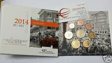 2014 OLANDA 8 monete 3,88 EURO BU Pays Bas Cultureel Erfgoed Nederland de Wereld