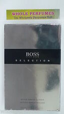 HUGO BOSS SELECTION MEN 3.0/ 3 OZ/ 90 ML AFTER SHAVE LOTION NEW, LEVEL AS PICT'D