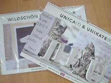 ** Kalenderpaket ** 2 WHISKAS-Kalender mit tollen Fotos als Poster 2012+2013 **