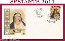 ITALIA FDC ROMA GIOTTO 1966 SAN REMO G49