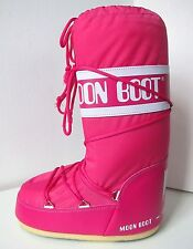 Tecnica Moon Boot Nylon rose taille 35/38 Moon Boots Moonboots bouganville Magenta