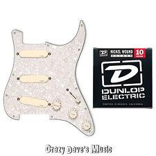 EMG Pro Series DG20 Ivory Loaded Pickguard David Gilmore Pink Floyd w Strings