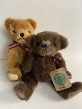 Boyds Bears Plush Matthew Bear Fabric Teddy 1979-1999 Limited Ed. & Collin Bear